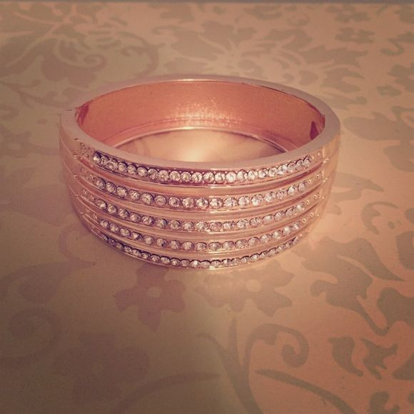 Rose Gold Colored Charming Charlie Bracelet Rose gold colour