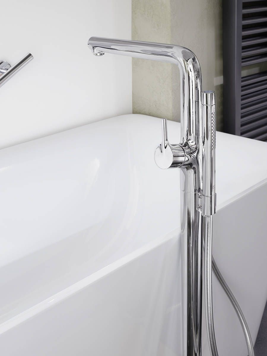 Hans Grohe Hansgrohe Talis S Freestanding Tub Filler In Chrome Modern