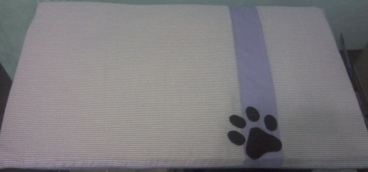 Colchonete para cachorro em espuma 1 cm de espessura
