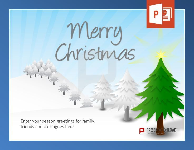 Free Christmas PowerPoint-Templates O Christmas Tree, O Christmas - christmas powerpoint template