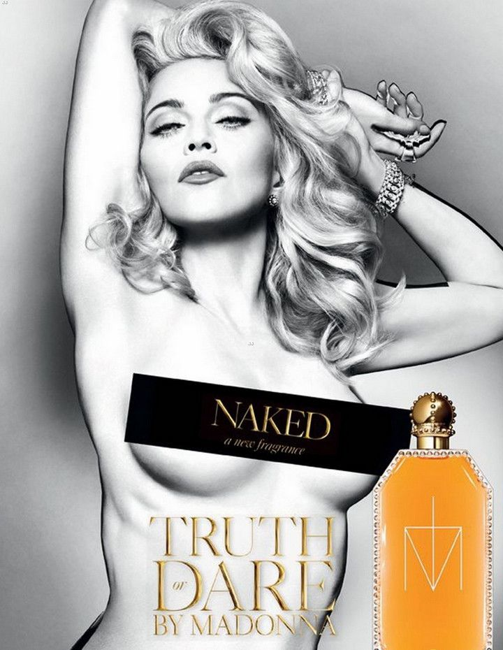 Madonna Truth or Dare Naked 200 ml, Body Lotion – sales4beauty.com