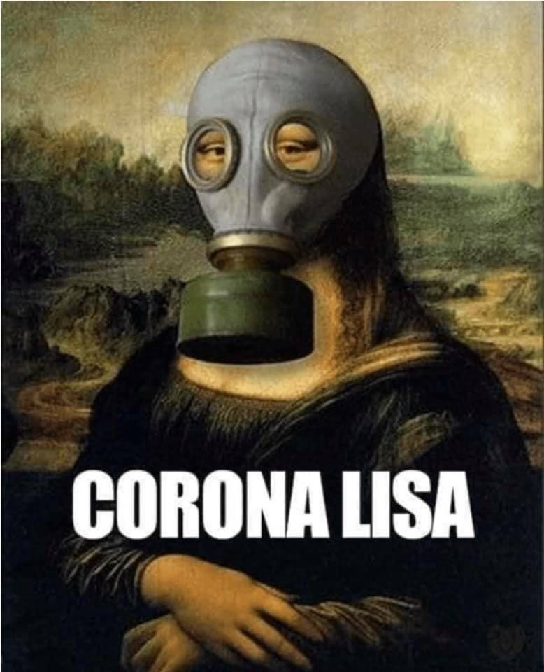Corona Lisa 2020 Memes Divertidos Meme Chistosos Meme Gracioso