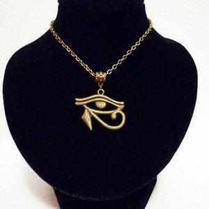 alt/ä GYP Mesas egipcio joyas colgante cruz Jersey Cadena 55 cm Antiguo Egipto ODETOJOY Horus Collar con Colgante de hombre