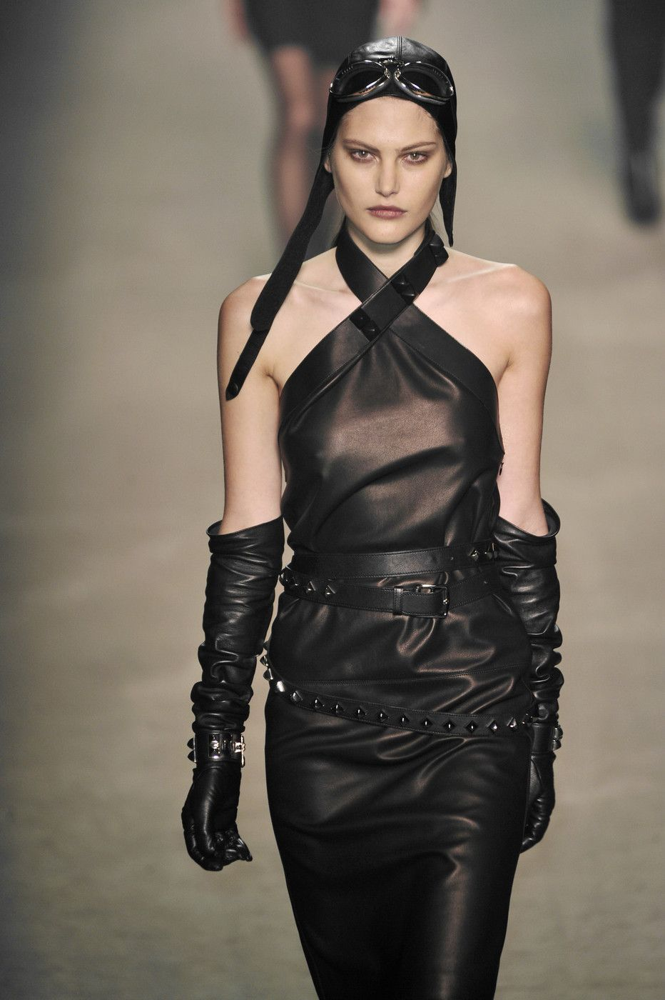 Catherine McNeil looking all badass while rocking Hermès