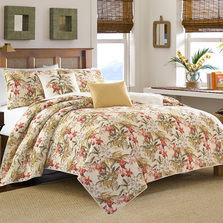 Tommy Bahama Daintree Quilt Beddingstyle Bedroom Bedding