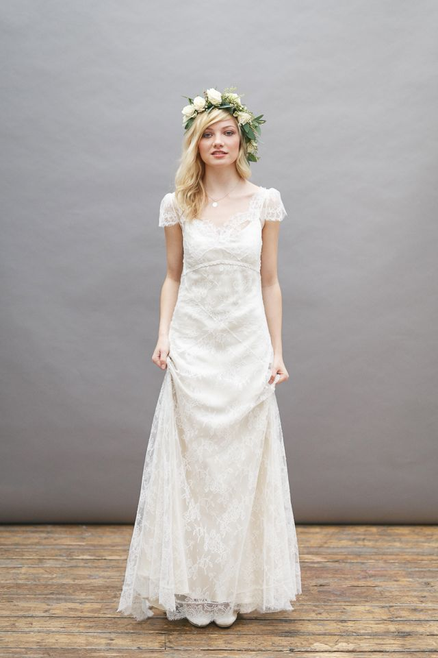 30 amazing boho wedding dresses - Myrtle | CHWV | Wedding Gowns ...