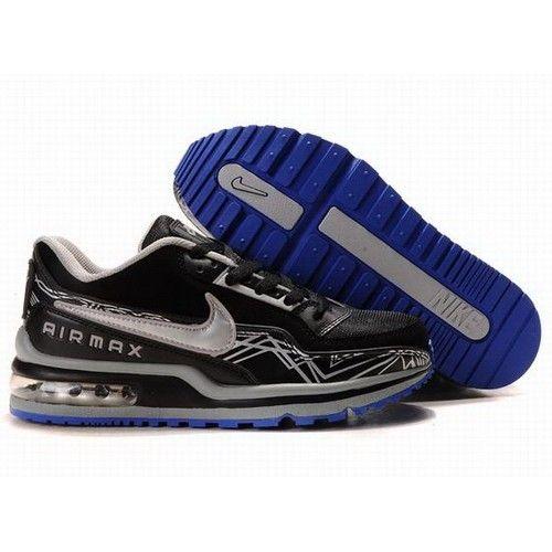Nike Air Max LTD PULS Black/Silver-Mineral Blue Men Running Shoes ...