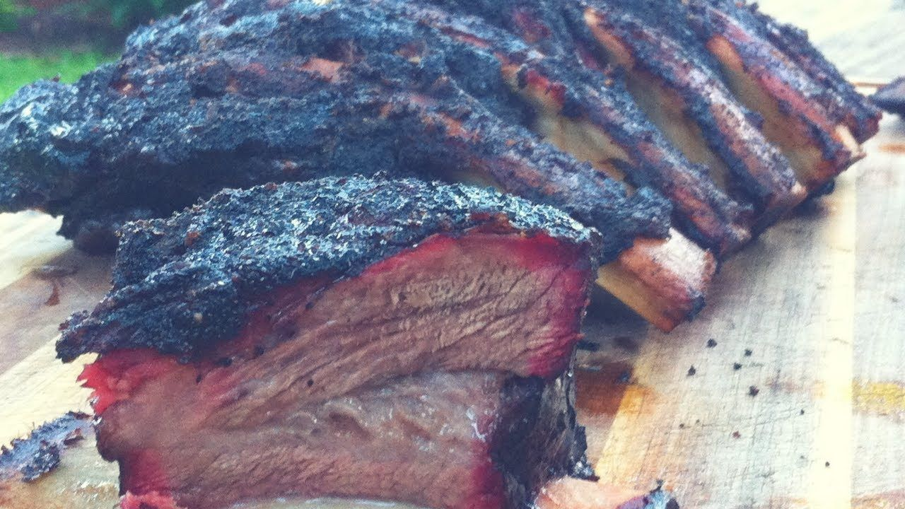 Bbq Beef Ribs Using The Slow N Sear On A Weber Kettle Grill Charcoal Tips Beef Ribs Bbq Beef Ribs Smoked Beef Ribs