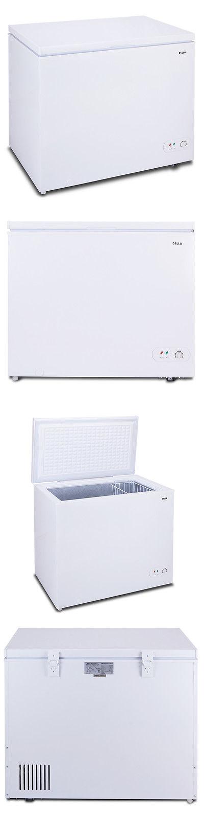 Refrigerators New Chest Deep Freezer Cu Ft Size Compact