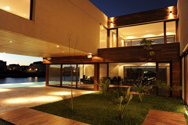 House Ef by Fritz   Fritz Arquitectos in Nordelta, Argentina