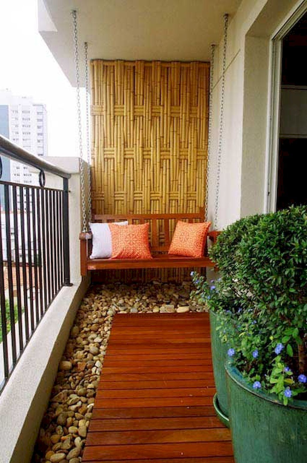 Adorable 80+ Beautiful and Cozy Apartment Balcony Decor Ideas https ...