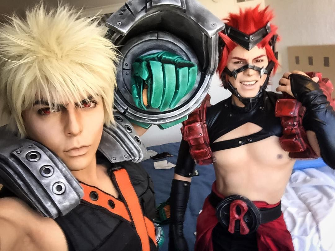 My hero academia bakugou cosplay