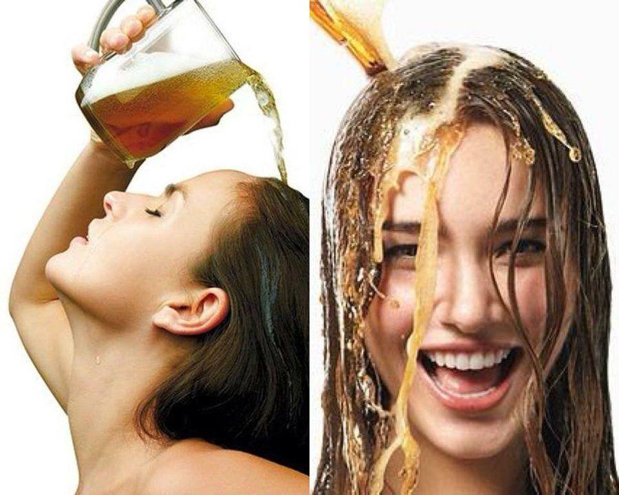 Cerveza para el cabello tinturado