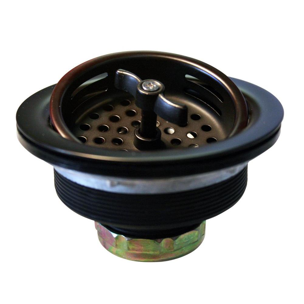 3 1 2 In Wing Nut Basket Strainer In Oil Rubbed Bronze Rubbed Bronze Kitchen Kitchen Baskets Oil Rubbed Bronze