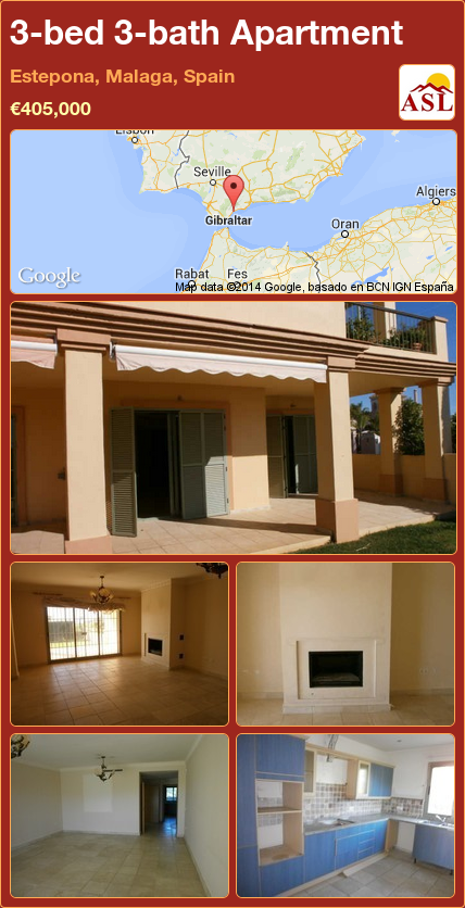 Apartment For Sale In Estepona Malaga Spain With 3 Bedrooms 3 Bathrooms A Spanish Life