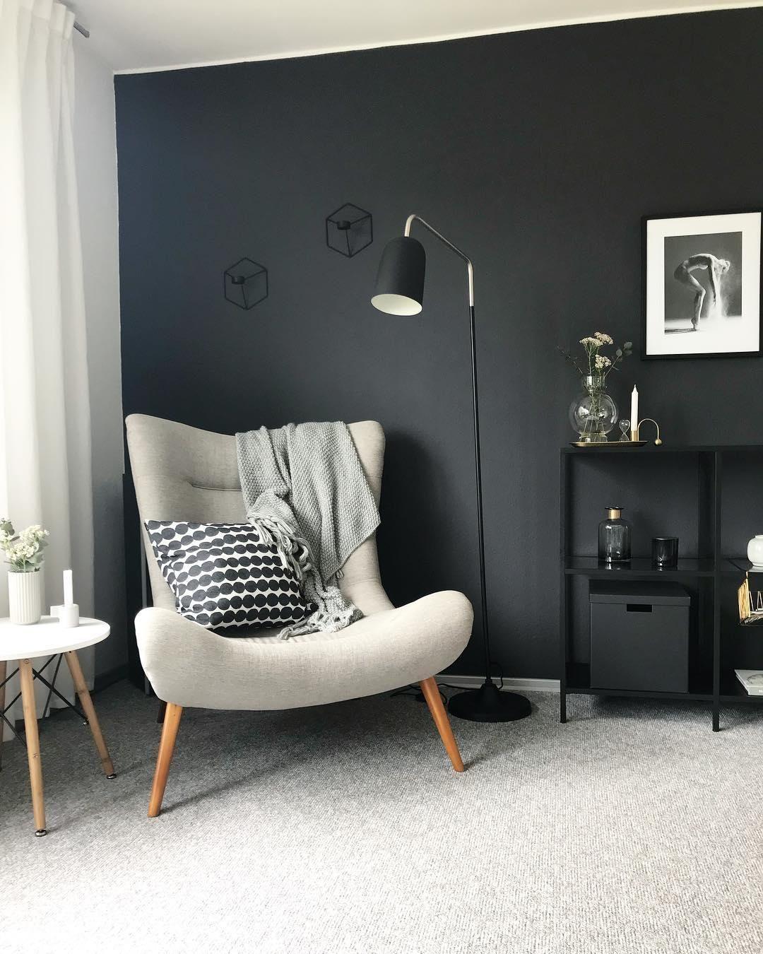 Graue Wände Wohnzimmer: Ein Interior-Trend Für Mutige! Wir Zeigen