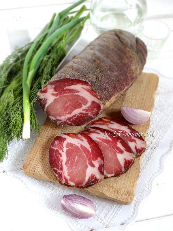Мясные деликатесы в домашних условиях рецепты с фото