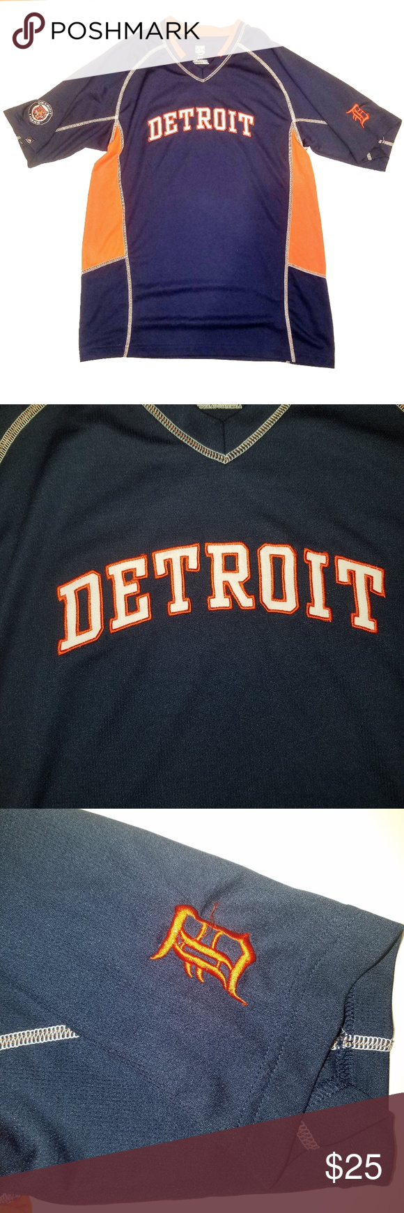 Detroit Tigers Cooperstown Pullover Jersey Majestic Shirts Sweatshirt Shirt Pullover [ 1740 x 580 Pixel ]