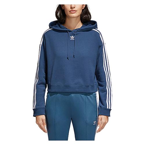 Adidas Ritagliata Originali Adicolor 3 Strisce Ritagliata Adidas Felpa Donne A Lady 30b67d