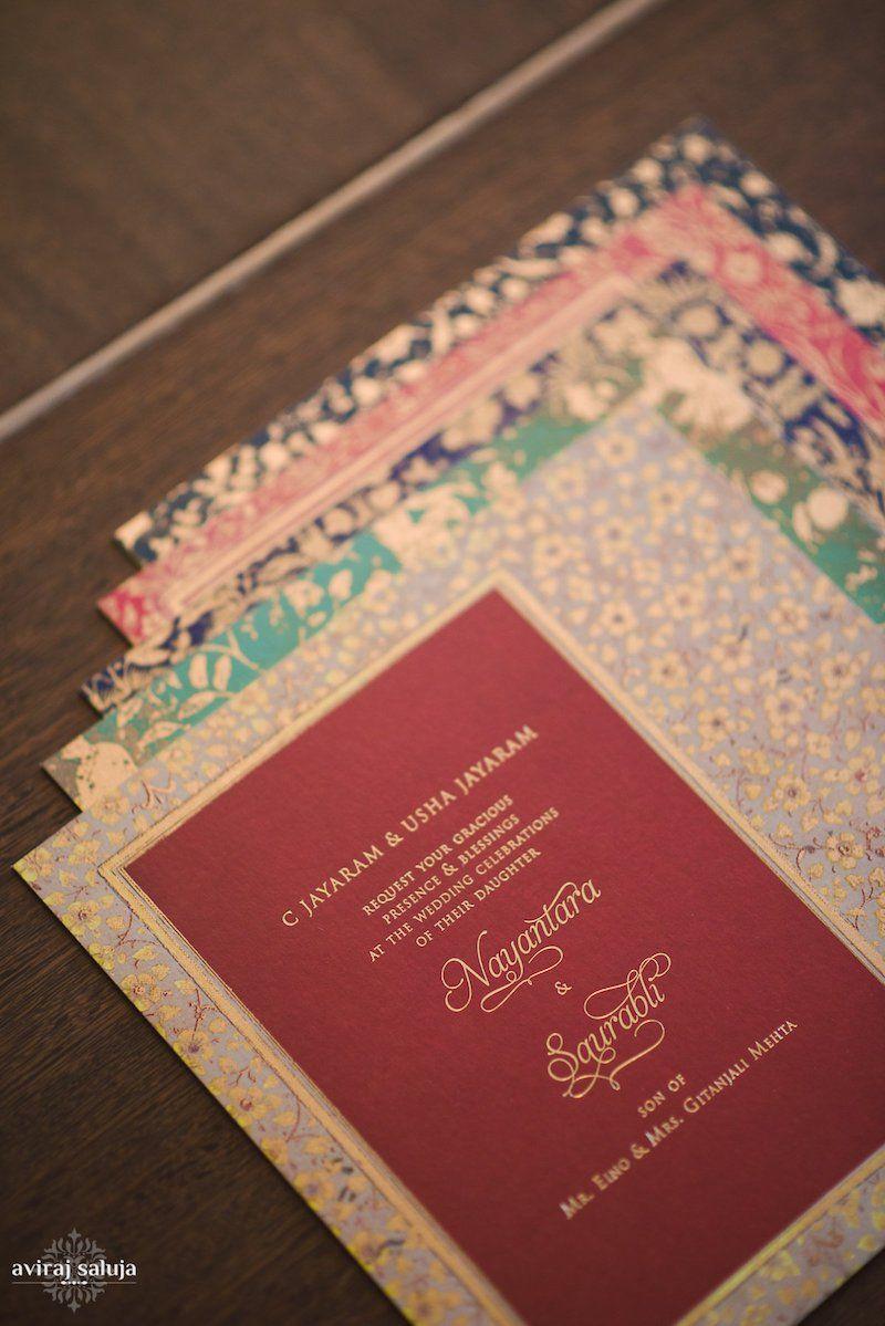 Colourful Wedding Invitations | Indian Wedding Blog | Think Shaadi ...