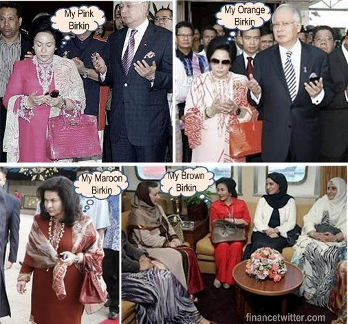 Image result for Rosmah Mansor - Hermes Birkin Store