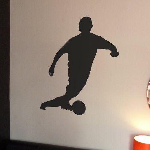 Wandsticker Fußballer