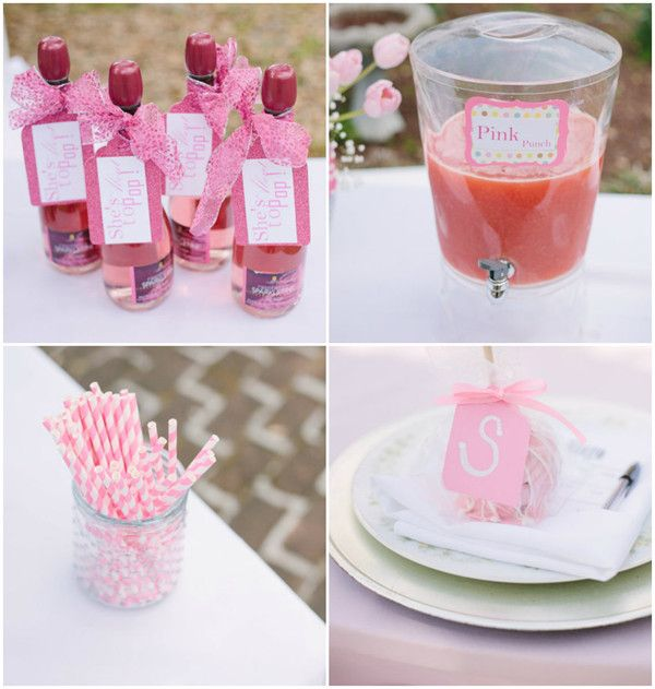 baby girl shower themes baby shower supplies pink baby showers themed