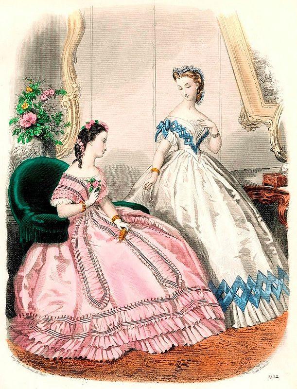 19th Century Victorian Fashion   Flickr - Photo Sharing!