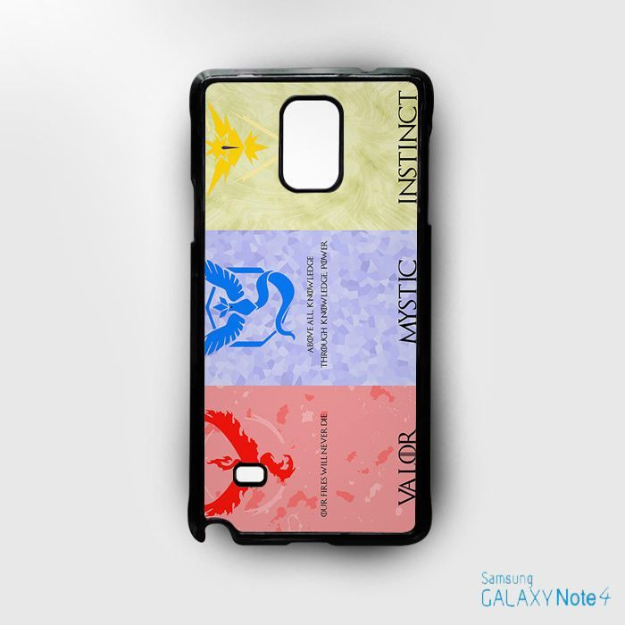 Pokemon Go Valor Mistic Instinct for Samsung Galaxy Note 2/Note 3/Note 4/Note 5/Note Edge phonecases