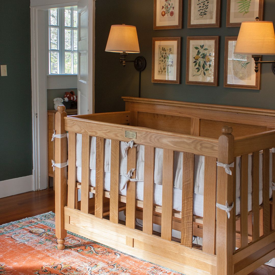 This HGTV Host Built a Crib for His Baby Girl and Added the Most Incredible Feature