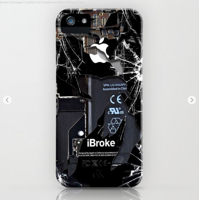 Broken Damaged Cracked Out Handphone Iphone Iphone Case Photography Blackandwhite Doubleexposure Digitalm Apple Iphone 4 Apple Iphone 3 Cool Iphone 6 Cases