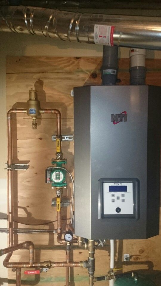 NTI Trinity Tx101 high efficiency condensing gas boiler. Radiant ...