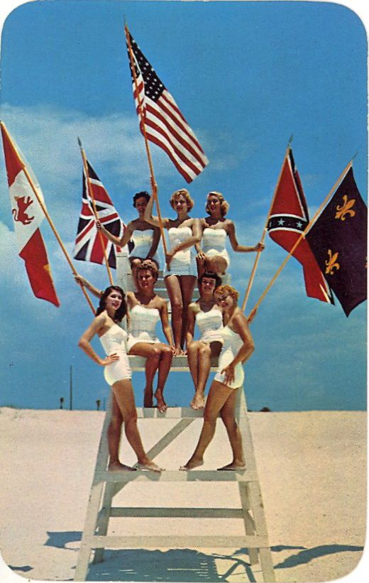 Fiesta Of Five Flags Held Each Year At Pensacola Beach Florida What Did They Do With The Liuard