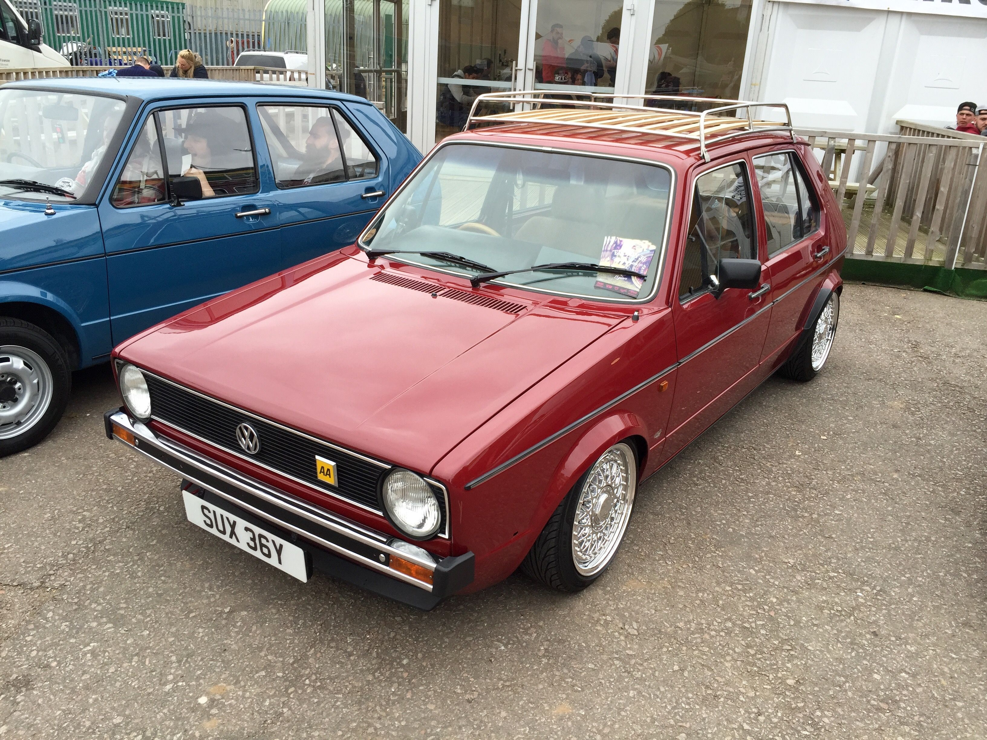 Mk1 At Early Edition 2015 The Roof Rack Is Nice Touch Roof Rack Mk1 Vw Golf