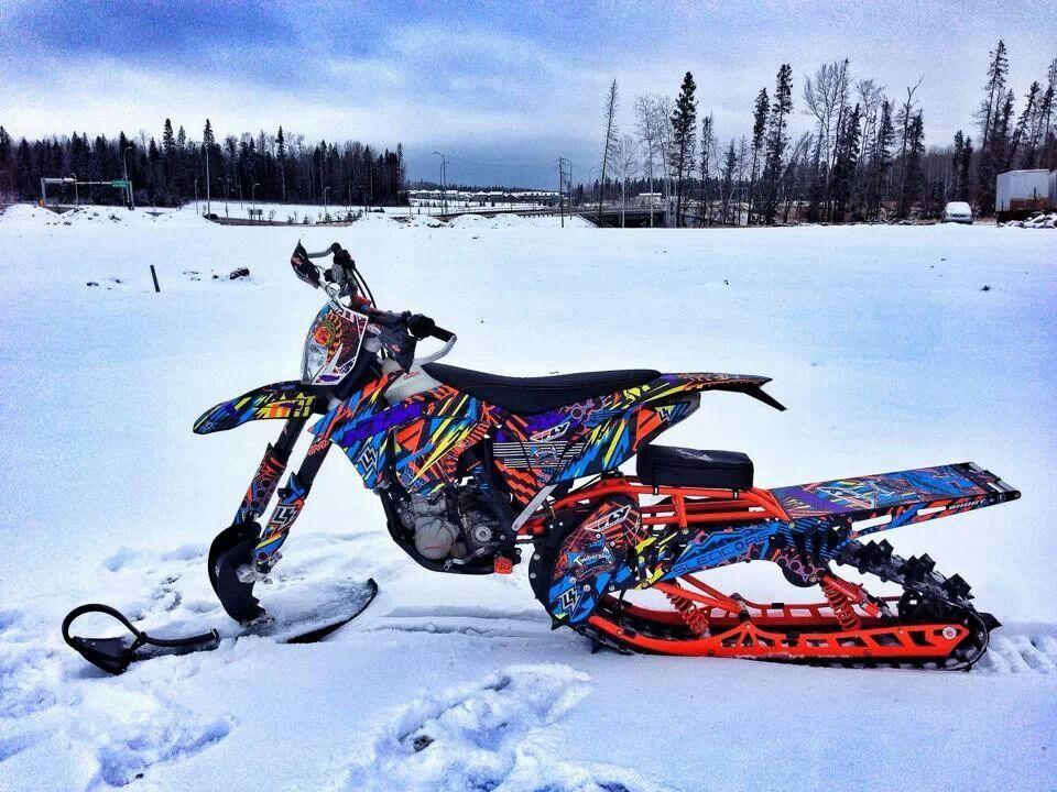 Dirt Bike Snowmobile >> Timbersled Timbersled Snow Machine Dirt Bikes Snow Sled