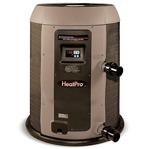 Hayward Hp21104t Heatpro Titanium 110 000 Btu Ahri Residential Pool Heat Pump As Shown Electric Heat Pump Pool Heater Heat Pump
