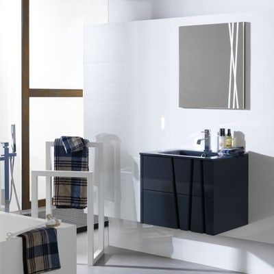 Bambu comes in white 24 x 19 x 19 porcelanosa lower for Porcelanosa sinks