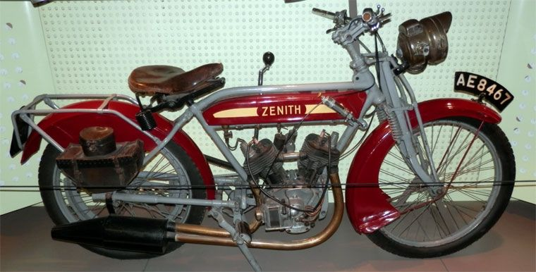 Zenith Classic Motorcycles Vintage Motorcycle Bike
