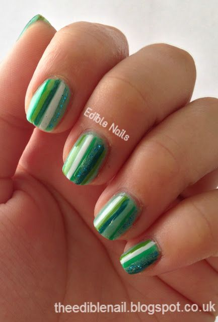 Edible Nails : 31 Day Challenge - Day 4 - Green