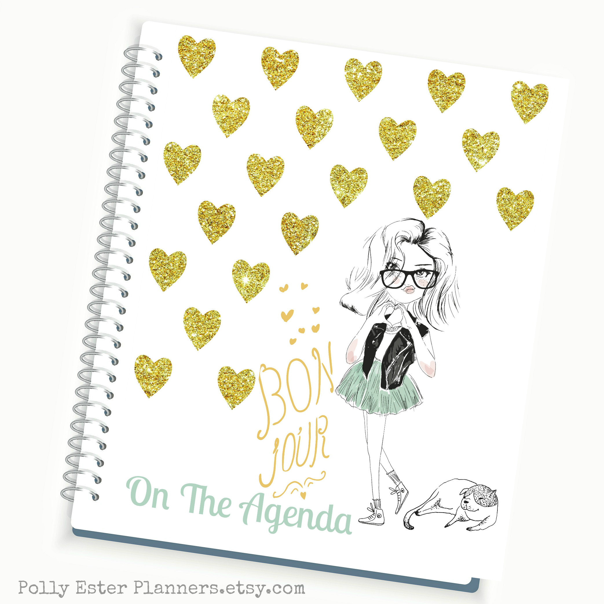 Planner Daily Planner Personalized Planner Weekly Planner - Custom daily planner