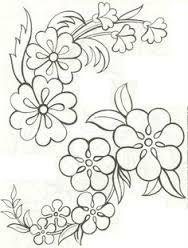 Resultado De Imagen Para Imagenes De Flores Para Pintar En Madera