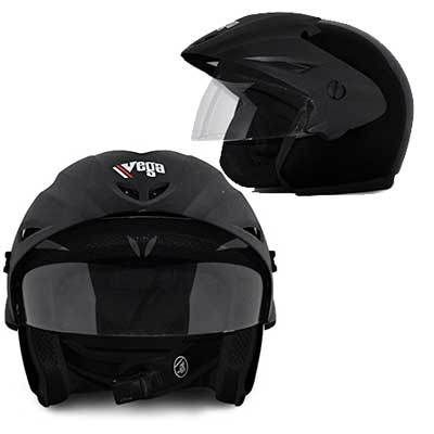 Vega Cruiser Open Face Helmet with Peak Online at Low Price in India at Flat 50% Offer