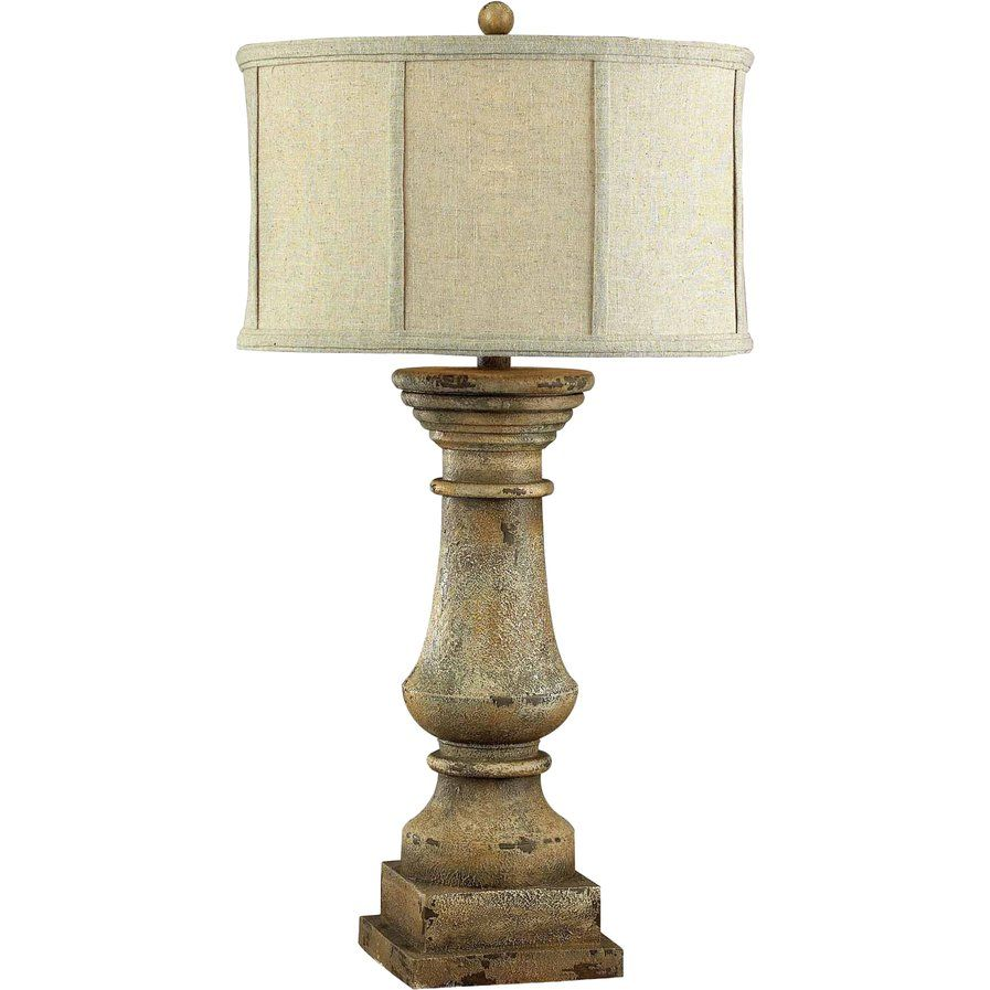 """Moshier 33"""" Table Lamp Beige table lamps, Stylish table"""