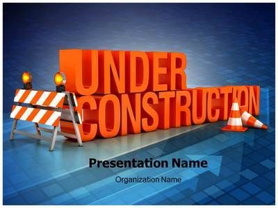 Under Construction Powerpoint Template Is One Of The Best
