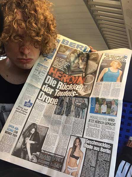 HeroinKids // Christian Kaiser und  Corinna Engel // BILD-Zeitung - Heroin - Die Rückkehr der Teufelsdroge - http://www.kaiserengel.net/de/