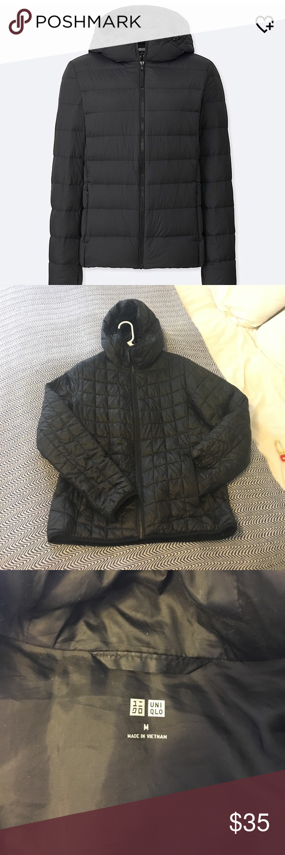 Uniqlo Short Puffer Jacket w/ Hood Jackets, Uniqlo