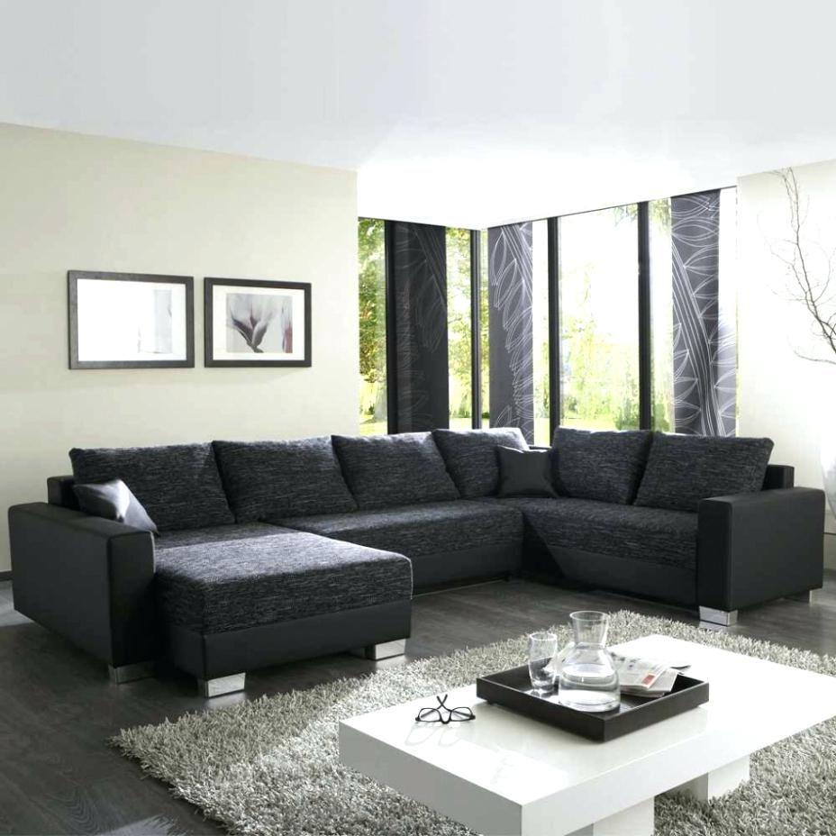 9 Angenehm Bild Von Wohnzimmer Ideen Schwarzes sofa  Wohnen