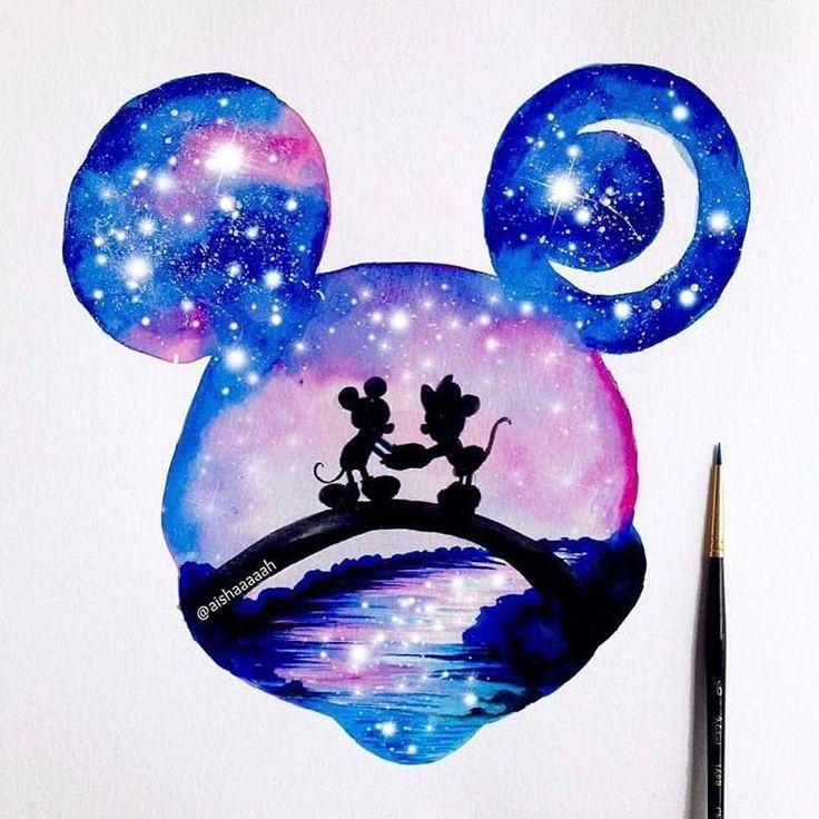 Photo of Jeder liebt Disney, richtig ?! Doppelbelichtung von Aishaaaaah auf Instagram. # ….