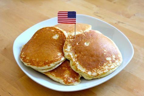 Original Rezept für amerikanische Pancakes #recipeforpuffpastry