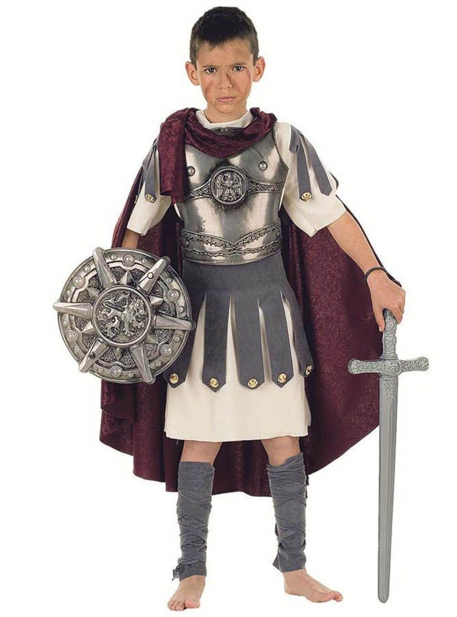 a6ec95fab Traje de centurión romano para niño | disfraces | Disfraz romana ...